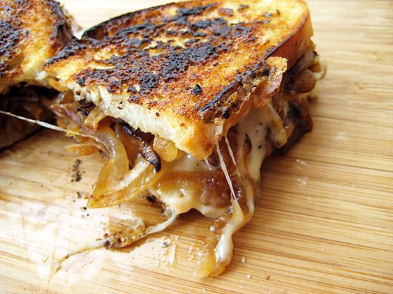 Grown-Up Grilled Cheese Sandwiches | Jack o'connell, Cheese and Cheese ...