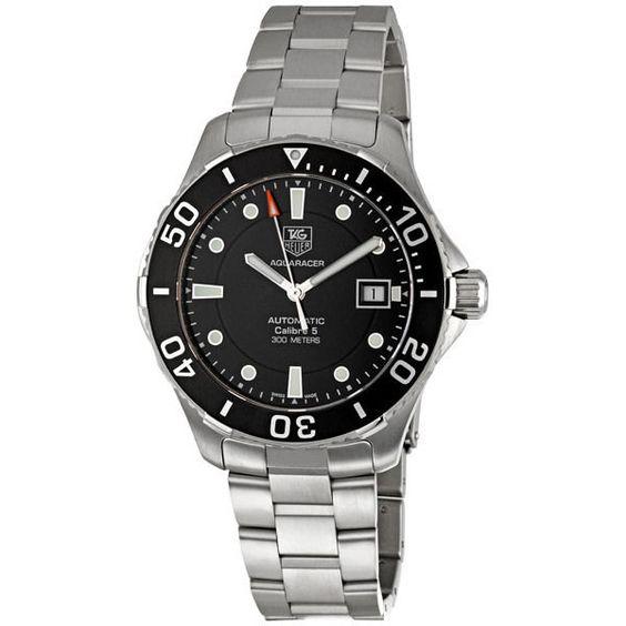 Tag Heuer Aquaracer Calibre 5 Automatic Mens Watch WAN2110 ...