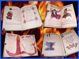 Resultado de imagen de paginas para el libro de las sombras