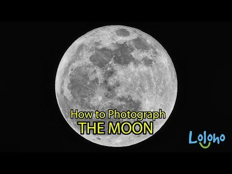 How To Photograph The Moon Youtube Photographing The Moon Moon Photographer
