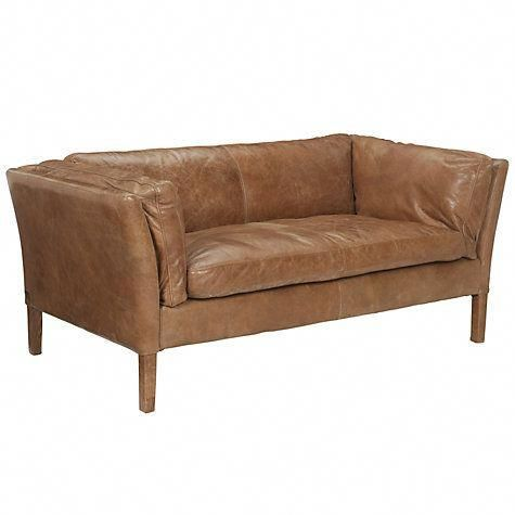 Buy John Lewis Groucho Small Leather Sofas Online At Johnlewis Com Best Leather Sofa Small Leather Sofa Small Comfy Sofa