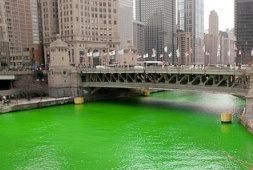 St Patricks Day in Chicago - this is an annual thing for me now :-)