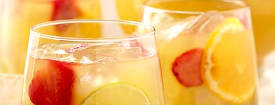 White Sangria (Dole) Use Carlo Rossi Moscato Sangria or Chablis