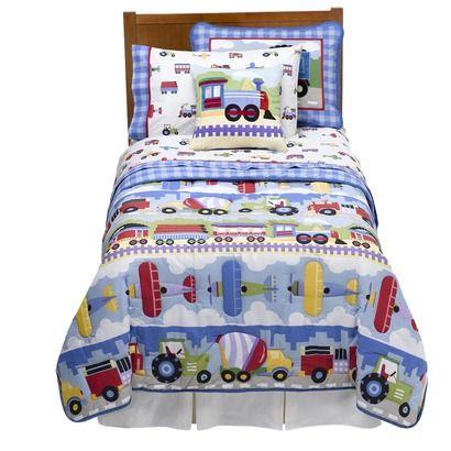 Target. Olive Kids Trains, Planes & Trucks Bedding ...
