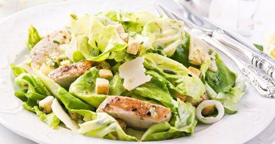 Salade dinde, ananas et pomme au yaourt (facile, rapide) - Une recette CuisineAZ
