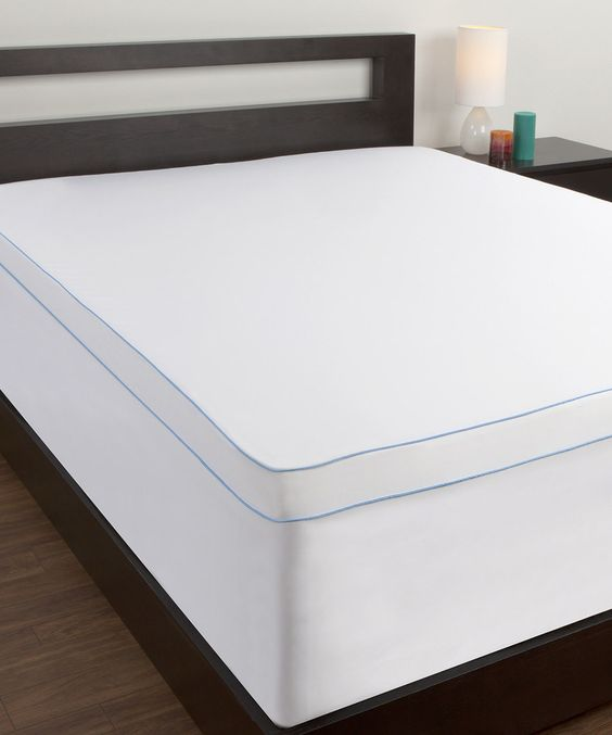 Body Therapy Removable Mattress Topper Cover by Comfort Revolution #zulily #zulilyfinds