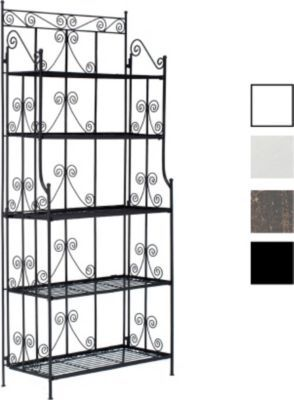 Eisenregal CIARA, extra stabiles Metall-Standregal, 170 x 75 x 35 cm, klappbar (aus bis zu 4 Farben wählen)   GartenXXL.de