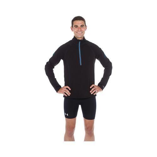 Men's SportHill XC 3SP Zip Long Sleeve Top /Pacific Blue