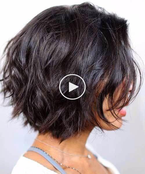 50 Hinreissende Kurze Frisuren Fur Dicke Haare Dickes Haar Kann Sowohl Ein Seg Kurze Frisuren Fur Dickes Haar Frisur Dicke Haare Dickere Haare