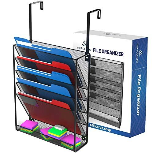 Hanging Organizer Cubicle File Holder Wall Mount Office Cubical