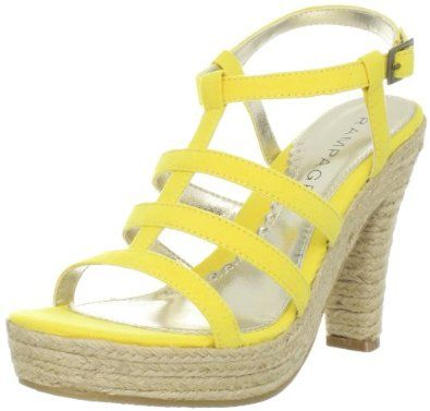 Yellow summer sandal