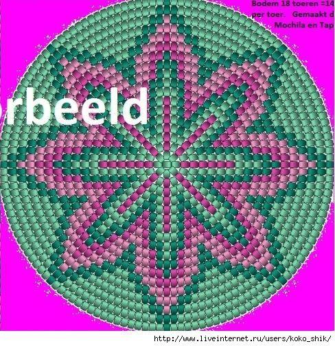 Схемы жаккард крючком - 14б (488x504, 276Kb)