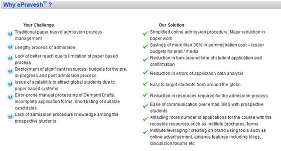 Cost Saving Analysis By Shifting To Online Admission Process
