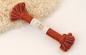 Twool- wool twine.Risque Rust 10m Twool natural plaited rope