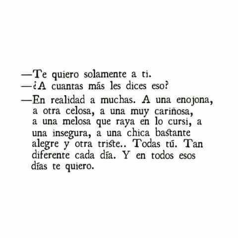 Te quiero a ti