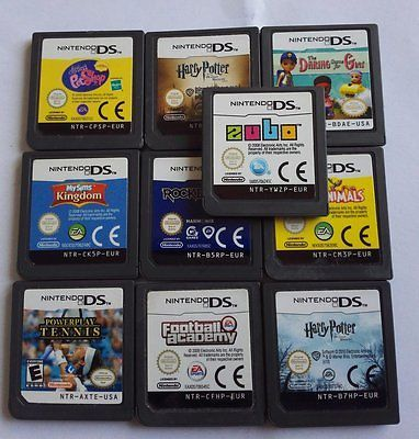 Lot 10 X Nintendo DS Lite DSi NDSL 3DS Games https://t.co/jjdHxB2mIV https://t.co/ZApcM4EAzV http://twitter.com/Xuisxa_Geertu/status/771379326826799105