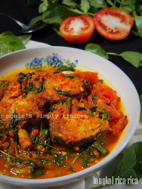 Ikan Tongkol Rica Rica Resep Ikan Resep Makanan Resep Masakan Indonesia