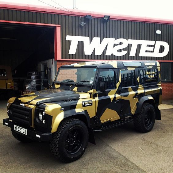 landrover defender by twisted gumball3000 tuning. Black Bedroom Furniture Sets. Home Design Ideas