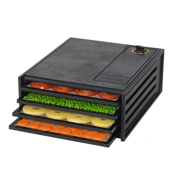Excalibur 2400 4 Tray Starter Series Food Dehydrator - Definitely on my list of things to buy for my kitchen!!!!