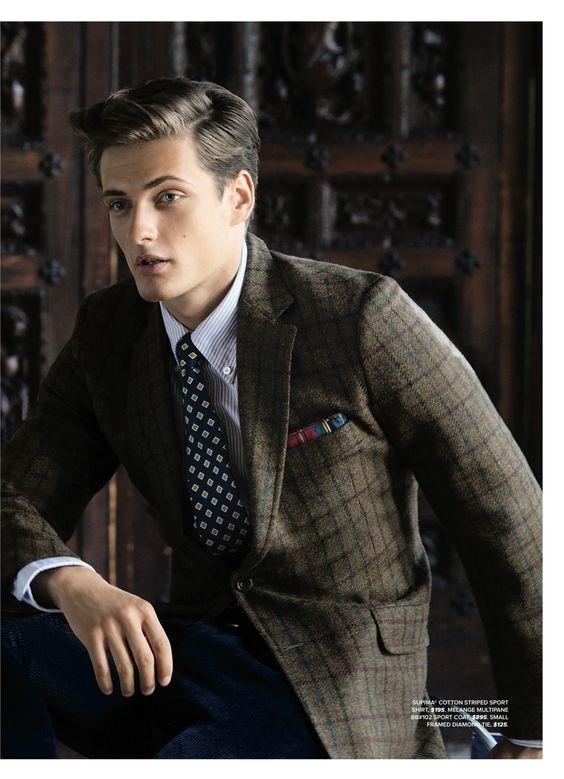 《ブルックスブラザーズ》世界に通用するスーツ|デキる男の決め服!