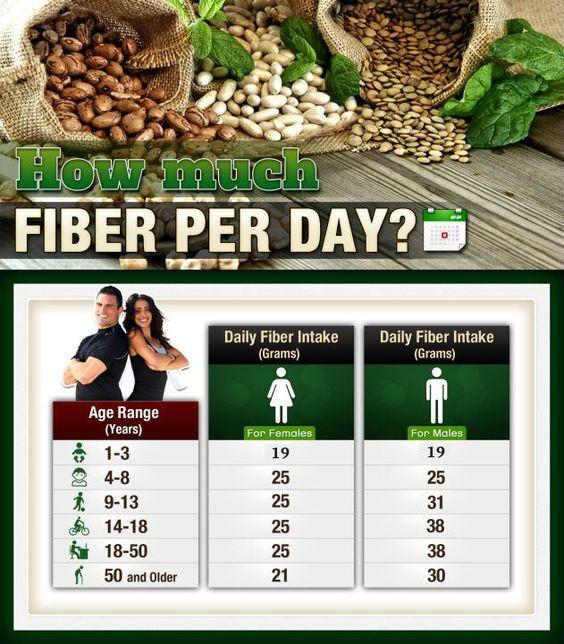 How Much Fiber Per Day