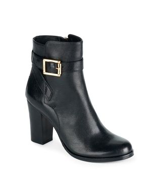 "Vince Camuto Signature boot in saddle-instant classic with 3"" heel and buckle enclosure.  Call 804-360-4660."