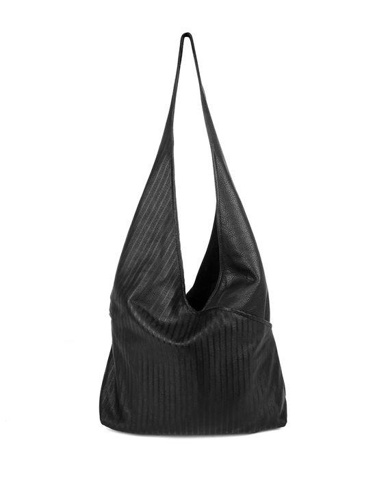 Cecilia Leather Sling Bag, Black - Kooba