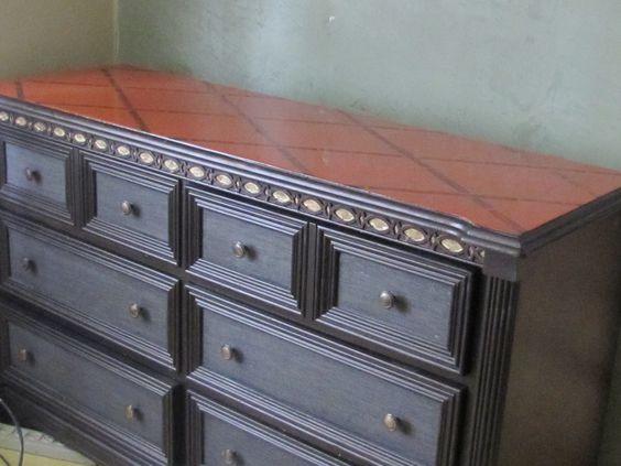 Ecostone en cubierta de mueble, el cual fue previamente rediseñado