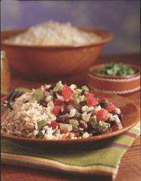Yep, it's a winner. Vegetarian Black Beans and Rice - Healthy Recipe Finder | Men's Health