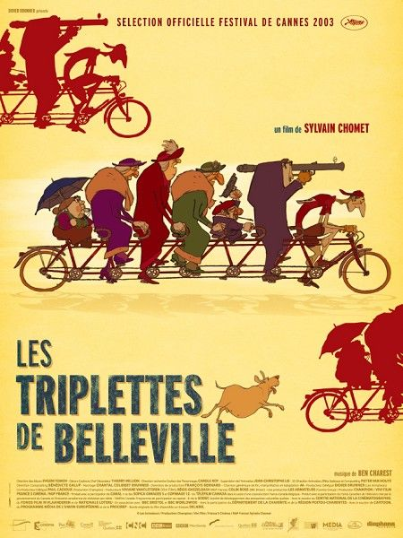 The Triplets of Belleville. Amazing movie... Love the retro animation!
