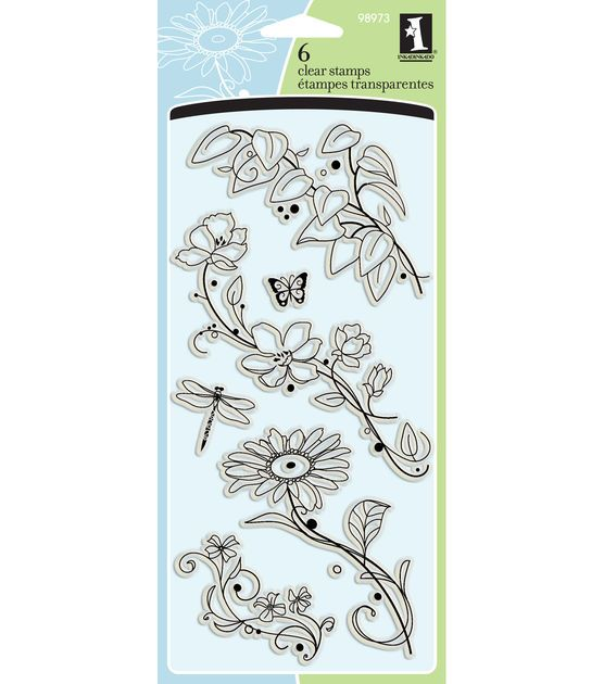 Inkadinkado Beauty Stems From Here Clear Stamp Set