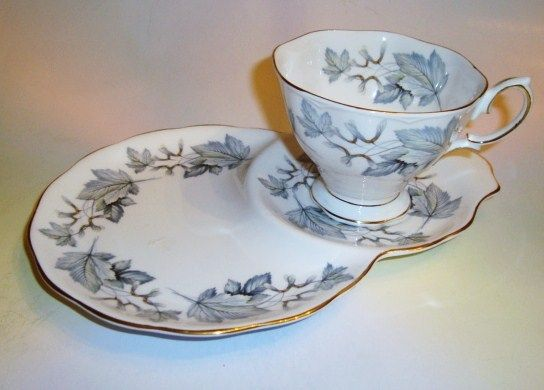 Royal Albert Silver Maple Tennis Set Tea Cup and Saucer Set ❤❤❤