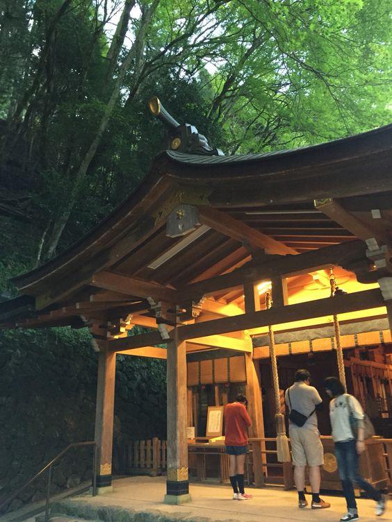 貴船神社 Kifune jinja in Kyoto