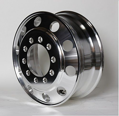 A228204 Aluminum Wheels 22 5 X 8 25 Stub Pilot Budd Pcd 10x285 75 Alcoa Style Both Side Polish Finished For All P Aluminum Wheels Truck Accessories Wheel
