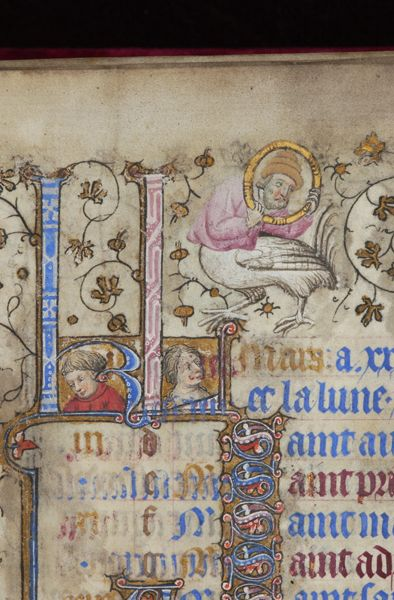Book of Hours, MS M.919 fol. 3r - Images from Medieval and Renaissance Manuscripts - The Morgan Library & Museum