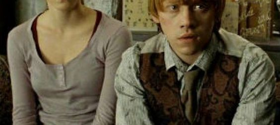 So Harry Potter ended with the golden trio finally becoming family. Harry goes on to marry Ginny, Hermione marries Ron and they all live happily ever ...