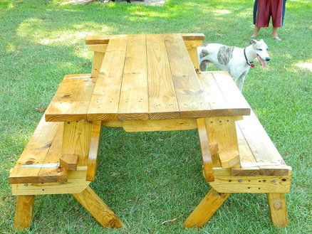 BENCH PLANS FOLDING PICNIC TABLE