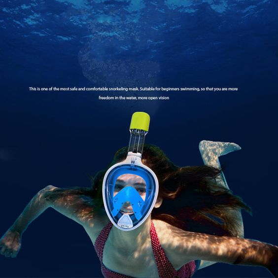 IPRee® Upgraded Silicone Under Water Scuba Anti Fog Full-Dry Diving Mask Snorkeling Goggles Glasses Sale - Banggood.com