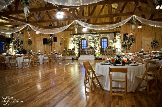 Rustic reception halls browse our gallery of photos to for Rustic and more