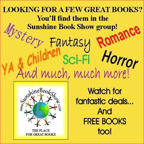 The Sunshine Book Show is all about authors and their books!