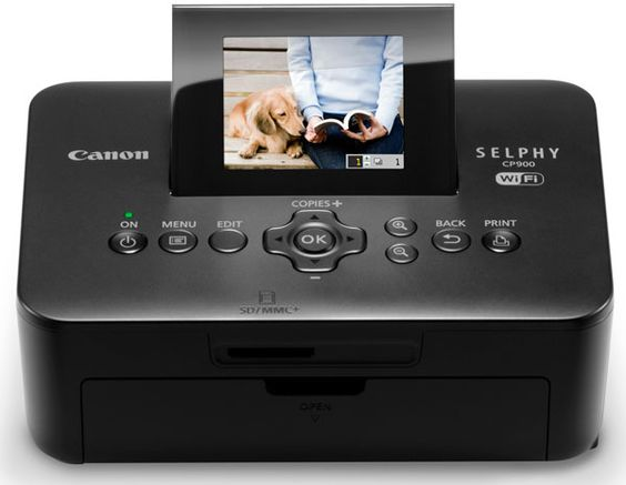 Canon unveils the SELPHY CP900 compact photo printe