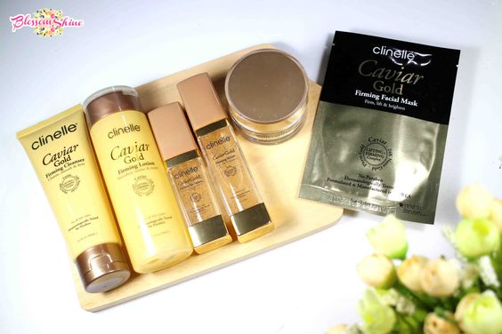 The Full Set of Clinelle Caviar Gold Series