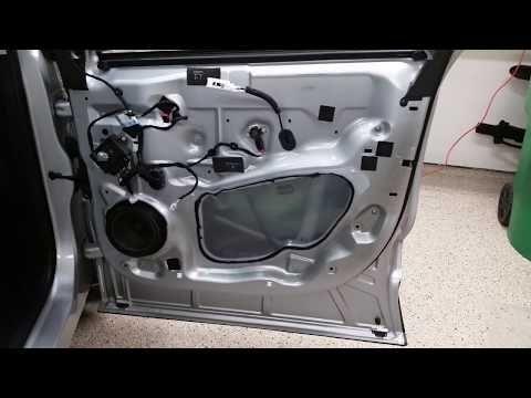 2015 To 2019 Ford Edge Suv Metal Door Frame Plastic Door Panel Removed To Upgrade Speaker Youtube Metal Door Panel Doors Ford Edge Suv