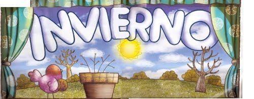 Trabajando En Educacion Infantil 10 Carteles Para El Invierno Invierno Cartel Estaciones Del Ano