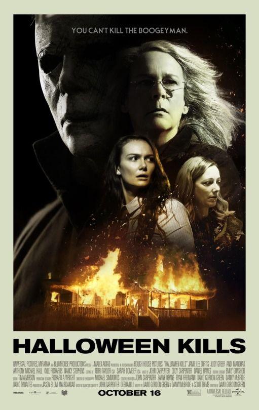 Halloween 2020 Fan Art Posters WITCHI Recording Artist — HALLOWEEN KILLS theater poster fan art