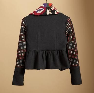 Carlotta Jacket - even the back is gorgeous