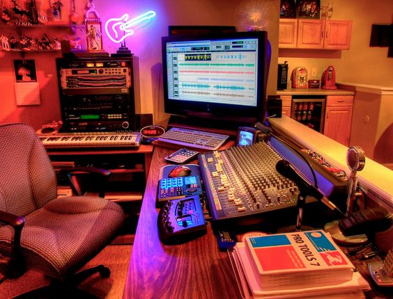 Sensational Home Studio Music Studio Beats Gear Pinterest Estudio De Largest Home Design Picture Inspirations Pitcheantrous