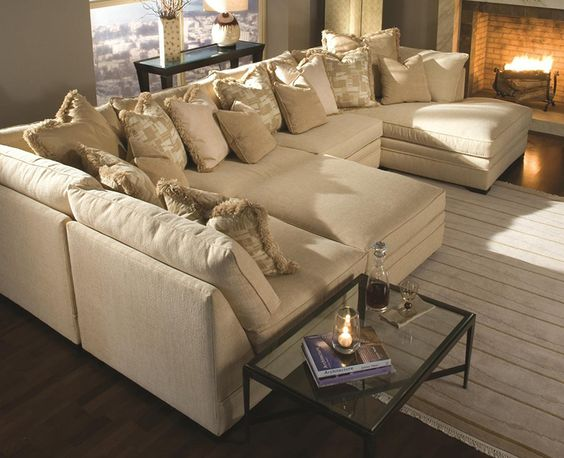 25+ Best Extra Large Sectional Sofas Ideas On Pinterest | Big Couch, Family  Room Decorating And Gray Couch Decor Part 7