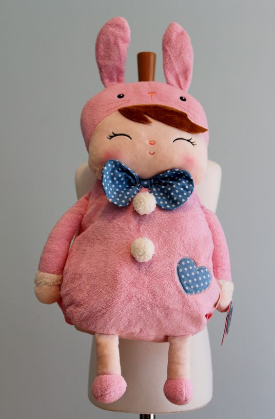 Pink Bunny Rucksack Approx 18'' (head to toe) £18.99