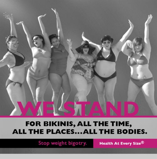 "Another favorite from the ""I STAND"" project.  (Yay, bikinis!)"
